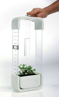 WWF - One daily drop Living calendar on Industrial Design Served - Urban Farming