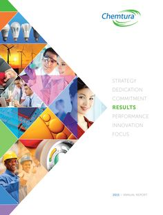 dda designs Chemtura Corporation's 2015 Annual Report