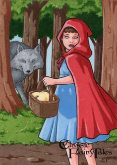 Little Red Riding Hood by Elaine Perna [©2015]