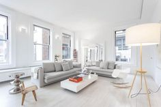 A Minimalist And Graceful Loft That Lacks Color But Makes Up In Style