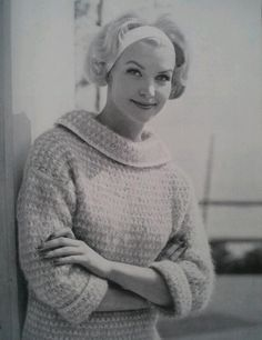 Items similar to Vintage Knitting Pattern PDF Women's Sweater 6232 on Etsy Vintage Knitting, Pullover, Knitting Patterns, Knit Crochet, Turtle Neck, Trending Outfits, Etsy, Fashion, Jackets