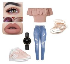 """""""😘"""" by mallaauryrochaa on Polyvore featuring Miss Selfridge, adidas, ROSEFIELD and Red Camel"""