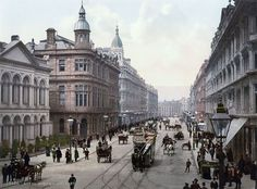 Incredible Hand-Tinted Postcards Capture 1890s Ireland In Vivid Color - p6design.net