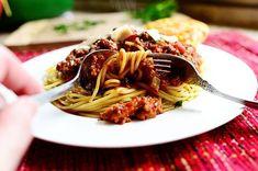 Pioneer Woman Spaghetti Sauce, Spaghetti Lasagna, Cooking Spaghetti, Cooking Recipes, Healthy Recipes, Easy Recipes, Gourmet Recipes, Healthy Food, Al Dente