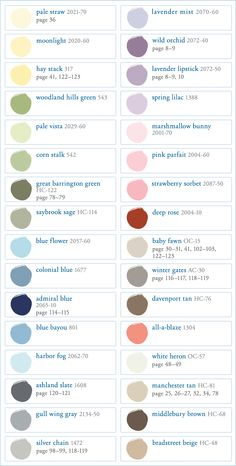Benjamin Moore Paint Colors July 2012 | Pottery Barn Kids