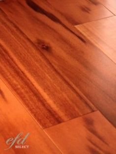 It has been 2 years since I had tigerwood bamboo floors installed. After much trial and error, I have finally found a combination that keeps these floors clean and shiny. Here is what works for me...