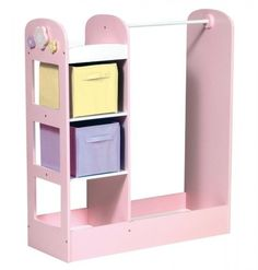 so cute!!!!! Dress up storage...could do this with an old desk