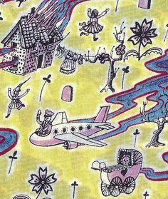 ROSE C'EST LA VIE: Taking the Liberty: Grayson Perry fabric