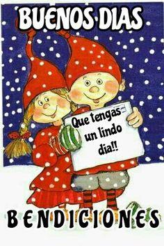 864 best buenos diaz images in 2019 Christmas Greetings, Christmas Humor, Christmas Time, Merry Christmas, Morning Greetings Quotes, Morning Messages, Morning Quotes, Spanish Christmas, Spanish Holidays