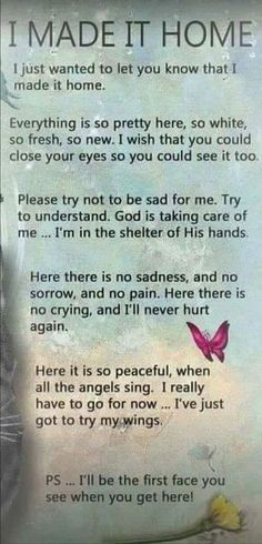 This message comforts me. Miss mom and dad so much. The Words, Now Quotes, Life Quotes, Rip Daddy, Beau Message, Grief Poems, Quotes On Grief, Sympathy Quotes For Loss, Funeral Poems