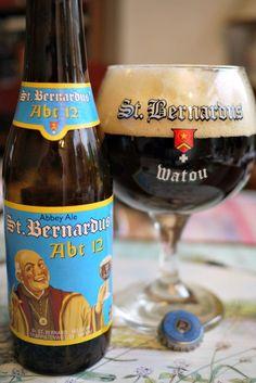 Belgian beer: St Bernardus beer Abt 12