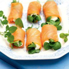 Lovely Smoked Salmon and Cream Cheese Entree. Recipe | Yummly