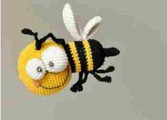 La petite abeille au crochet !