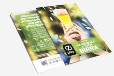 """iZiplay - Cartolina promo """"Un #mondiale a tutta birra"""""""