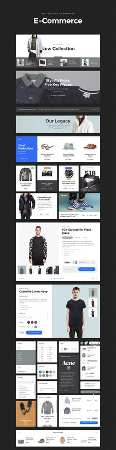 Buy Baikal UI Kit - Huge Set Of UI Components by greatsimple on ThemeForest. Baikal UI Kit contains a great number of simple components, made using the same styles that fit together perfectly. Web Design Examples, Web Ui Design, Best Web Design, Site Design, Wireframe Design, Design Layouts, Creative Design, Website Layout, Web Layout