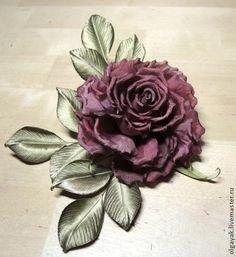 tutorial Rose fabric. Simple, but effective. - Fair Masters - handmade, handmade