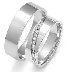 Witgouden ringen met diamantjes