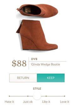 DV8 Glinda Wedge Bootie from Stitch Fix…