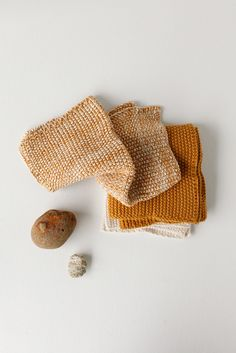 Knitted Cloth Set