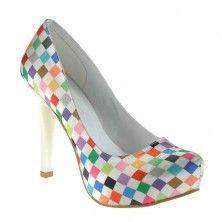Miss Caroline Ayakkabı Kareli