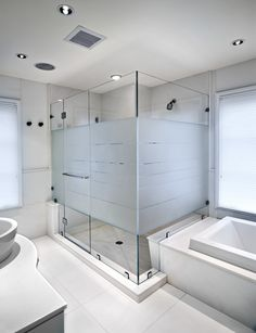 Luxury glass shower doors after you have planned the lay Shower Cubicles, Trendy Bathroom, Glass Shower, Frosted Shower Doors, Luxury Master Bathrooms, Shower Doors, Luxury Bathroom, Bathrooms Remodel, Bathroom Design