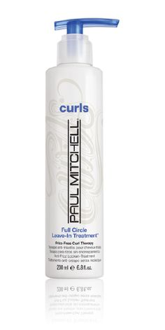 PM Full Circle Leave-In Treatment Conditioner Lightweight conditioning treatment hydrates, detangles, tames frizz and won't weigh hair down. Leave In, Kate Middleton, Curl Enhancing Shampoo, Q Hair, Paul Mitchell Hair Products, Scrunched Hair, Conditioner, Hair Studio, Royals