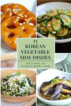 Korean vegetable side dishes (banchan) to go with any meals. These are especially great with Korean BBQ. The most popular Korean vegetable side dishes (banchan) to go with any meals. Simple and easy to make, these dishes are light and nutritious. Korean Food Side Dishes, Taco Side Dishes, Side Dishes Easy, Side Dish Recipes, Asian Recipes, Asian Pork Belly Recipes, Japanese Food Dishes, Chinese Side Dishes, Easy Korean Recipes