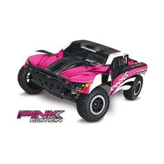 Traxxas 58024 Slash Short Course Truck Pink Edition RTR W/ TQ Radio for sale online Pink Truck, Traxxas Slash, Short Courses, Rc Trucks, Charger, Vehicle, Scale, Electric, Surface