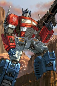 Optimus Prime - My brother and I used to watch Cybertron together all the time when we were younger.