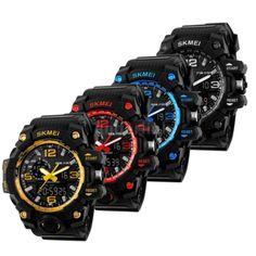 900da4b8b52 Loja Virtual Cabanascuba · Relógios e Smartwatch · Relógio Skmei Masculino  Analógico e Digital Esportivo