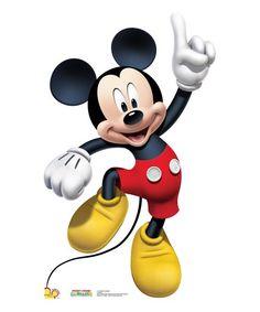Mickey Mouse Dance Life-Size Cardboard Cutout
