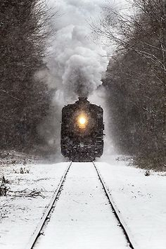 ~  'Winter Train' by Jonathan Steele  I rode this train as a kid! In the summer you can take it to Old Saybrook and get a  boat ride too!