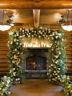 Everything is better by the fireside, even a wedding. It's hard to top a barn wedding on The Ranch at Rock Creek, but a Log Cabin Wedding, Lodge Wedding, Luxury Wedding, Wedding Tips, Wedding Ceremony, Wedding Venues, Wedding Planning, Rock Creek, Henna Designs