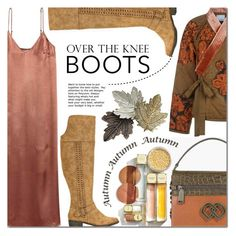"""""""Fall Footwear: Over-The-Knee Boots"""" by barbarela11 ❤ liked on Polyvore featuring Dsquared2, 3.1 Phillip Lim, Chicnova Fashion and Michael Kors"""