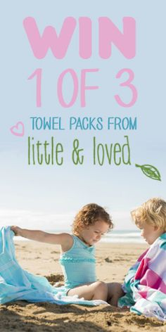 and 1 of 3 Towel Packs from Little & Loved! Beach Mat, Competition, Towel, Packing, Kids, Free, Bag Packaging, Young Children, Boys