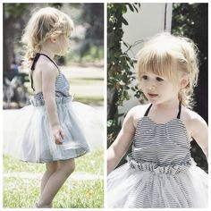 Dreamer's Tutu Dress by Two Els. (Image by fancytreehouse.blogspot.com) #twoels