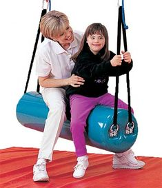 Tumble Forms Roll Swing | Adaptive Swings | e-Special Needs