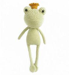 PATRONES AMIGURUMI: RANA AMIGURUMI 33188 Crochet Frog, Crochet Amigurumi, Crochet Hats, Popular Ads, Kawaii, Tweety, Free Pattern, Toys, Crochet Pouch