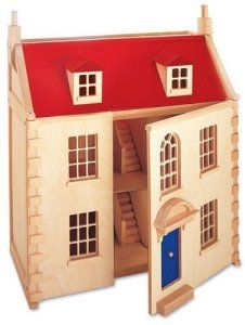 Pintoy Wooden Marlborough Dolls House from Pintoy - Pintoy Toys £98.00