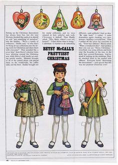 ♥ (ू•ᴗ•ू❁)                                                              ✄Betsy McCall's Prettiest Christmas