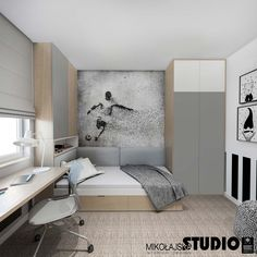 Boys bedrooms furniture can also be fun! Discover more ideas and inspirations with Circu Magical furniture. Boys Bedroom Furniture, Bedroom Decor, Furniture Ideas, Soccer Bedroom, Boys Room Design, Small Space Interior Design, Teenage Room, Small Room Bedroom, Kid Bedrooms