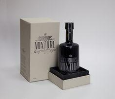Curious Mixture Absinthe by Stig Bratvold, via Behance