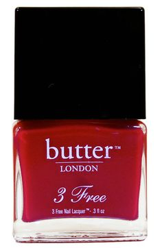 butter LONDON '3 Free' Nail Lacquer | Come to Bed Red 11 Cult Nail Polish Shades To Try Before You Die