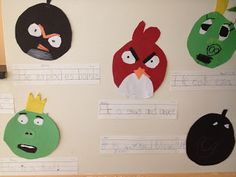First Grade Spies: Angry Bird pronouns & a Freebie!