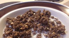 cereal  use sukrin instead of splenda