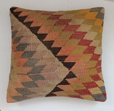 DECORATIVE Accent Pillow Handmade vintage by SultanaDecorPillows, $64.00