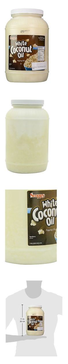 Popcorn 179181: Snappy Popcorn 1 Gallon White Coconut Oil 1 Gallon Free Shipping -> BUY IT NOW ONLY: $31.21 on eBay!