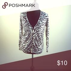 Zebra Print Cardigan Zebra Print Cardigan Forever 21 Sweaters Cardigans
