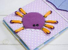 Mini book page - Spider