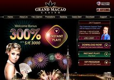 Play at Grand Macao Online Casino